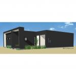 1162 Small Modern House Plan | 61custom