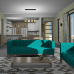 Living Room, Dining Room | 61custom