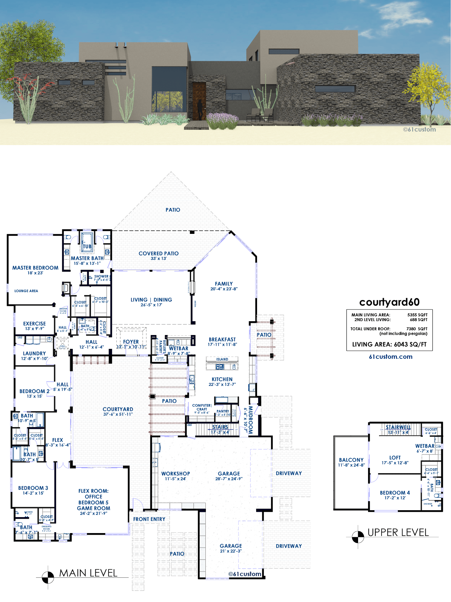 Luxury House Plans 61custom ontemporary & Modern House Plans - ^