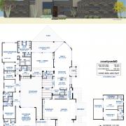 Luxury Courtyard House Plan | 61custom