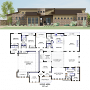 courtyard26 Side Courtyard Plan | 61custom
