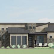 courtyard26-3-car garage option
