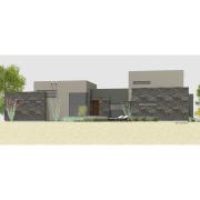 courtyard60: Luxury Modern Courtyard Houseplan