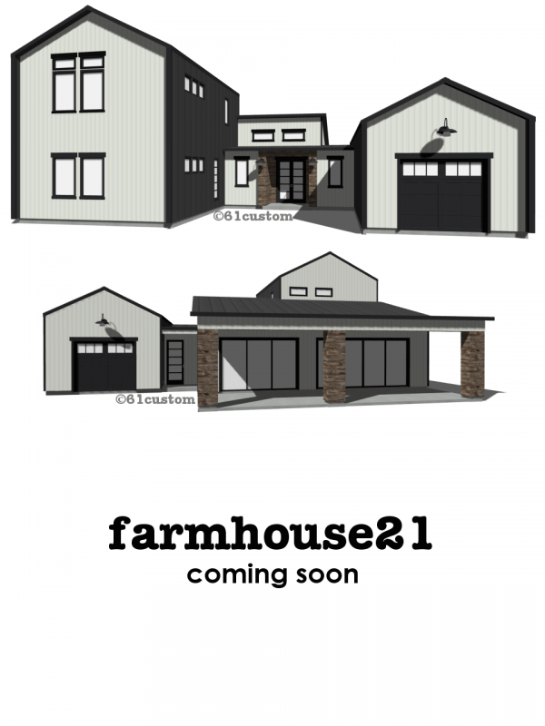 farmhouse21: Modern Farmhouse Plan | 61custom