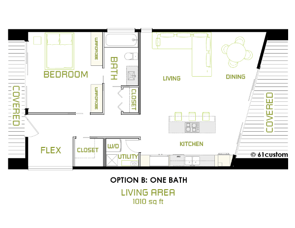 Minimalist Modern Floorplan B