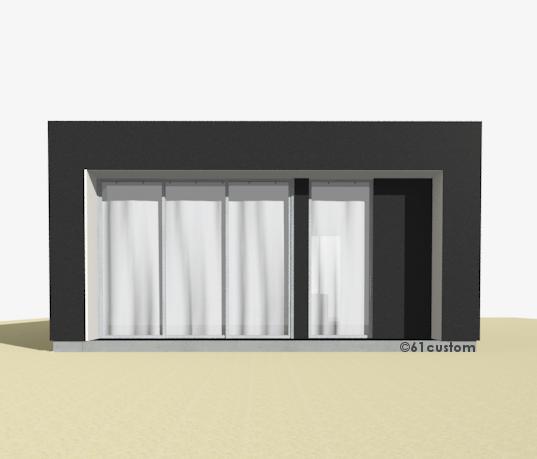 Small minimalist modern house plan for Minimal house plan