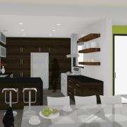 modern houseplan kitchen