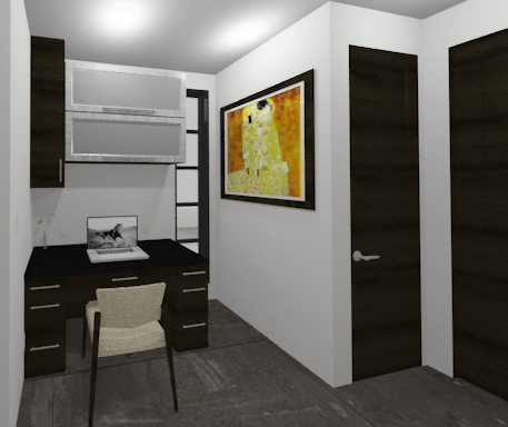modern plan - office