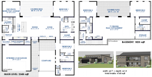 semi-custom home plan revisions