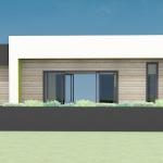 1254 - Modern Style Exterior