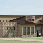 Side Courtyard Plan - Garage
