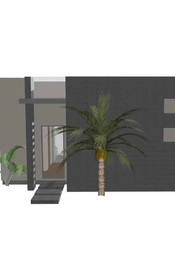 Modern Studio Guest House Plan | 61custom