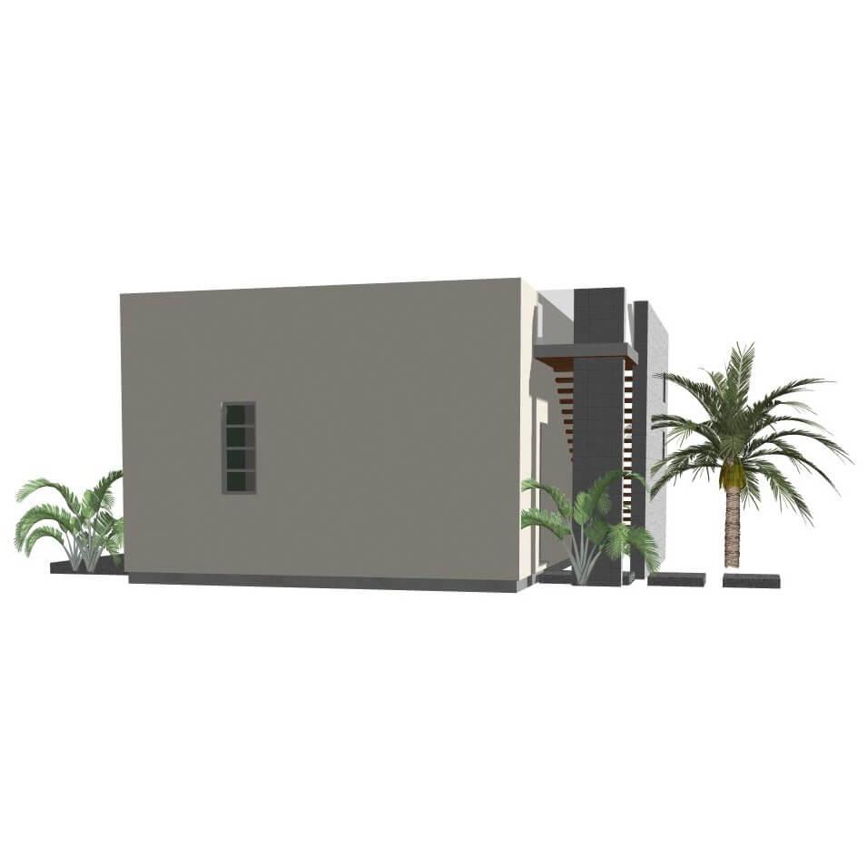guest house plan: modern studio | 61custom | contemporary & modern