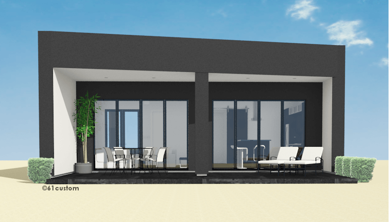 studio900 Small Courtyard Plan