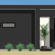 small courtyard houseplan
