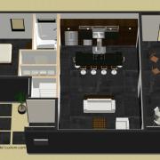 small courtyard floorplan