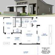 universal design: casita house plan