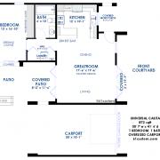 universal design: casita floorplan