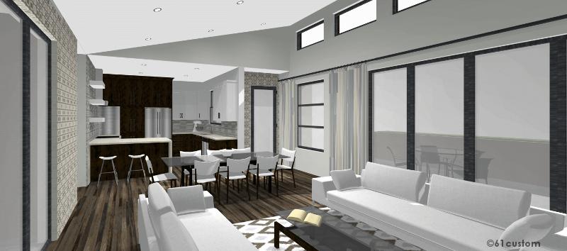 Contemporary Casita Plan Small Modern House Plan