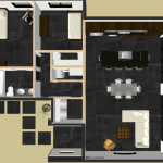 1162 floorplan | Small Modern House Plan | 61custom
