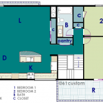 modern live-work floorplan | 61custom