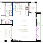 modern casita floorplan | 61custom