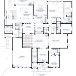 contemporary courtyard floorplan