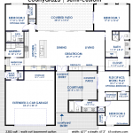 courtyard23 | courtyard home floorplan