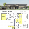 courtyard26-semi custom house plan