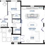 small front courtyard floorplan