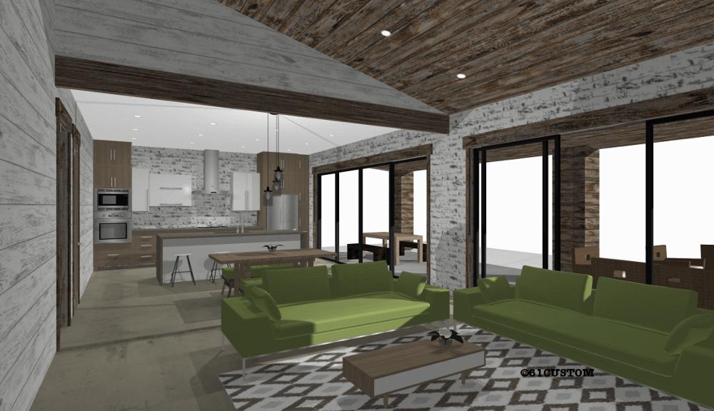 Farmhouse21 Modern House Plan 61custom Contemporary
