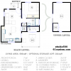 floorplan, studio500: modern tiny house plan | 61custom