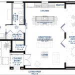 small modern floorplan